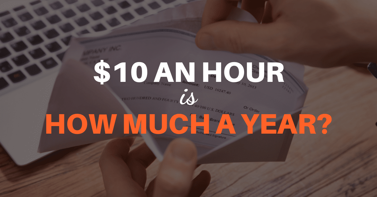 10 an hour is how much a year