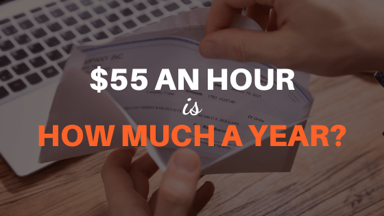 55 an hour is how much a year