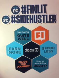 ChooseFI and FinCon Stickers