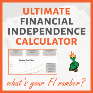 FIRE Calculator Sidebar