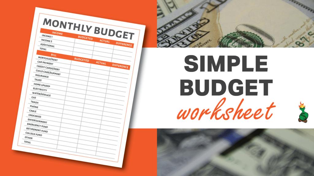 Free Printable Budget Sheets article graphics2
