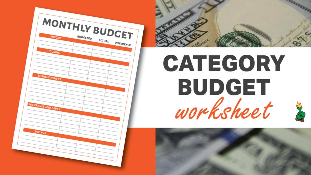 Free Printable Budget Sheets article graphics3