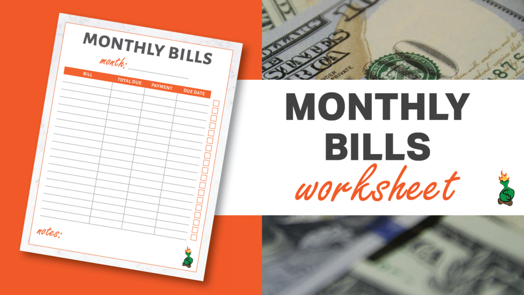 Free Printable Budget Sheets article graphics8