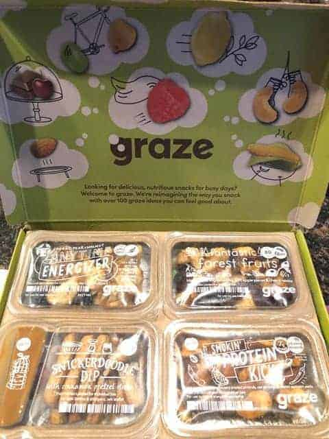 Graze Snack Meal Delivery Service
