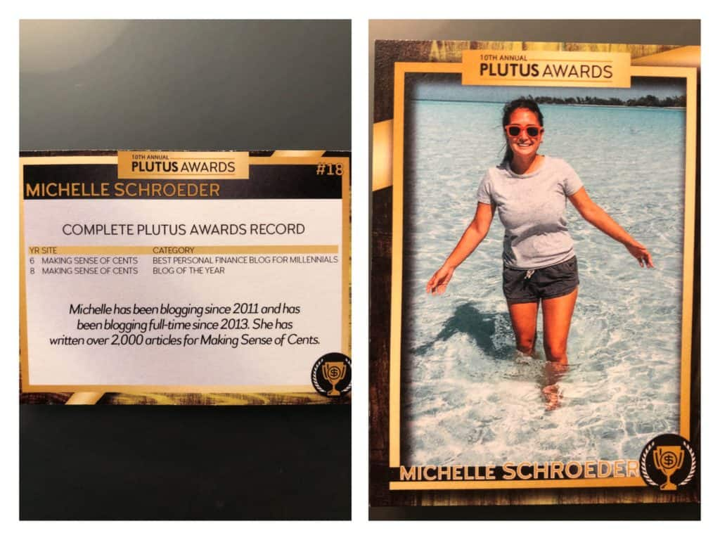 Michelle's Trading Card