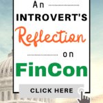 Introvert's Reflection on FinCon