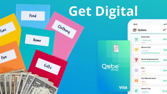 Qube Digital Budget Envelopes