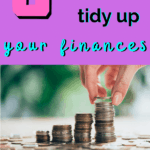 Tidy Up Your Finances