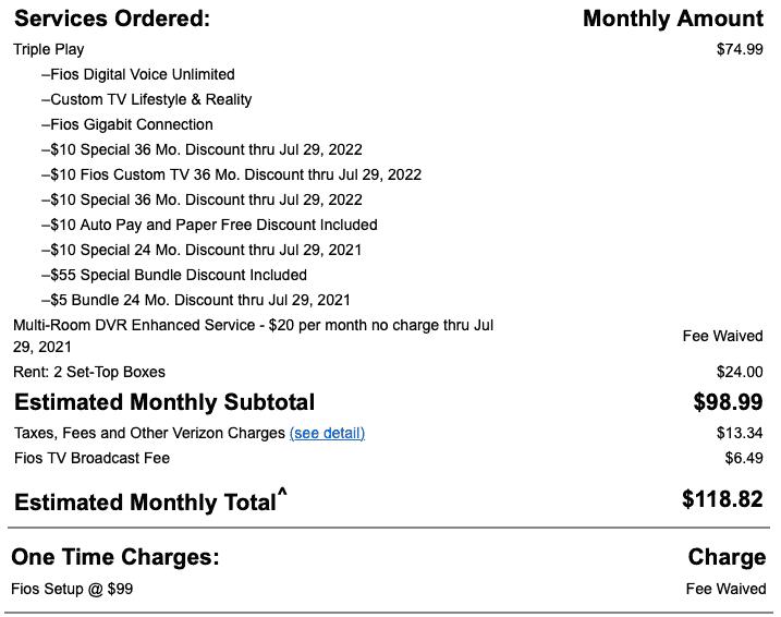 Verizon Bill Negotiation to Save Money