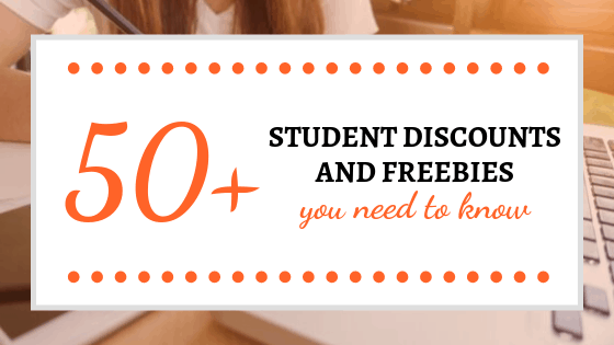 Student Discounts and Freebies