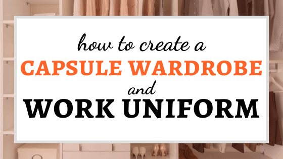 "This Is How to Create a Capsule Wardrobe and Work ""Uniform"""