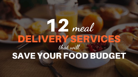 cheapest meal delivery service