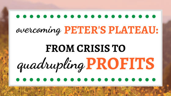 Overcoming Peter's Plateau