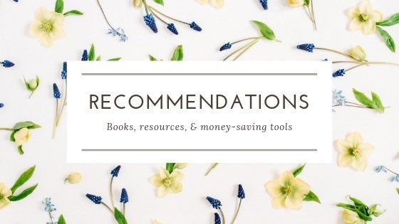 Recommendations-Books-Resources-Money-Saving-Tools