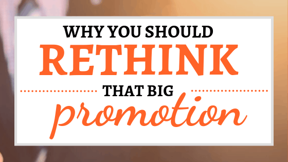 Why You Should Rethink that Big Promotion