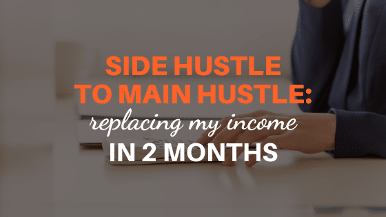 replacing my income