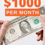 how to make an extra 1000 a month